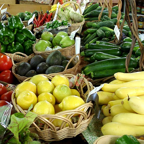 Fresh Hemingway veggies and fruits