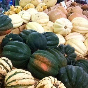 Fall brings our varieties of squash