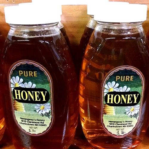 Our own honey all year