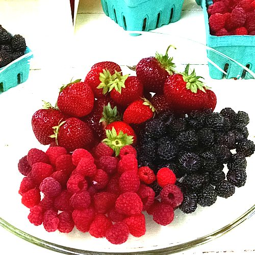 Lots of sweet berries